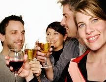 samen wijn proeven